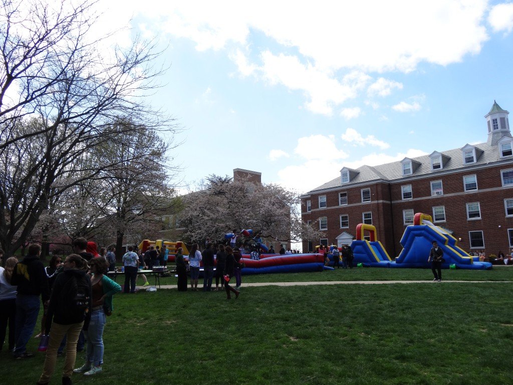 The Quad during Spring Fling