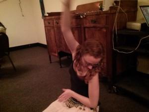 Natalie dancing