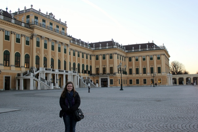 While in Europe, my classmates and I got to visit the Schönbrunn Palace in Vienna, Austria.