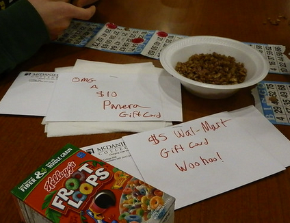 Late Night Breakfast Bingo at McDaniel