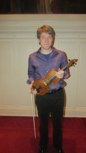 My friend, John Henry and his violin