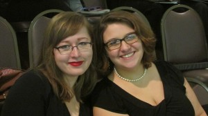 Two fabulous choir members!