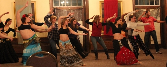 McDaniel Belly Dance Hafla Fall 2014