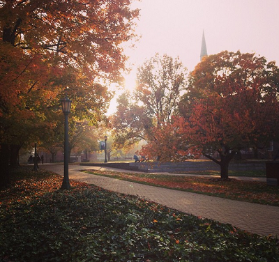 McDaniel College is a beautiful place -- and that's something worth savoring.